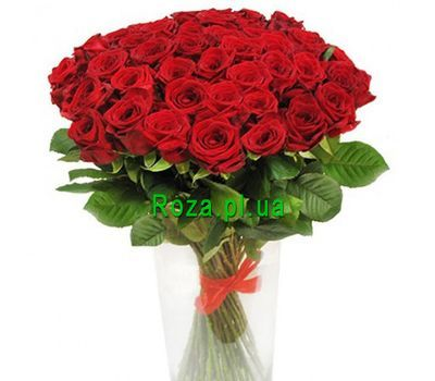 """""""Bouquet of 51 roses"""" in the online flower shop roza.pl.ua"""