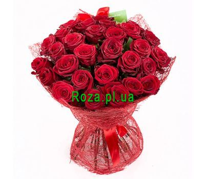 """Bouquet of 31 red roses"" in the online flower shop roza.pl.ua"