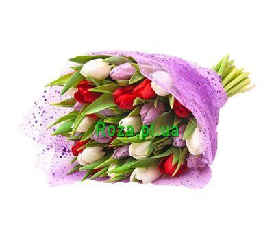 """""""Букет із 25 тюльпанів"""" в интернет-магазине цветов roza.pl.ua"""