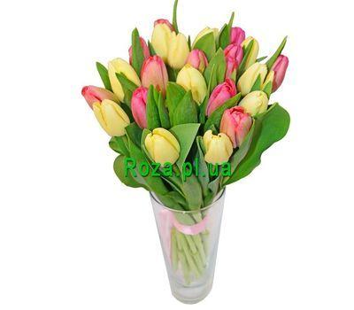 """""""Букет из 19 тюльпанов"""" в интернет-магазине цветов roza.pl.ua"""