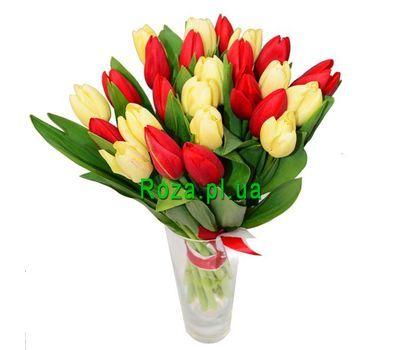 """""""Букет из 23 тюльпанов"""" в интернет-магазине цветов roza.pl.ua"""