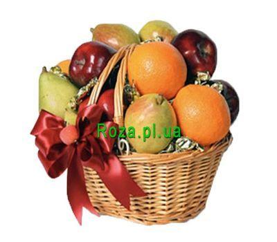 """""""Корзина с яблоками, грушами, апельсинами"""" в интернет-магазине цветов roza.pl.ua"""