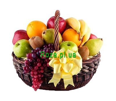 """Basket of sweet fruits"" in the online flower shop roza.pl.ua"