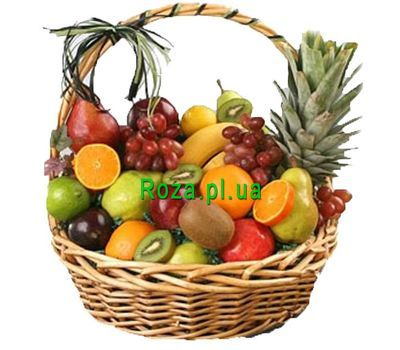 """""""Large fruit basket"""" in the online flower shop roza.pl.ua"""