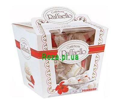 """Raffaello sweets"" in the online flower shop roza.pl.ua"