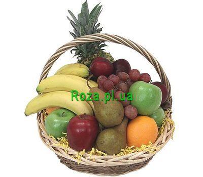 """Basket of various fruits"" in the online flower shop roza.pl.ua"
