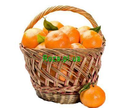 """""""Tangerine basket"""" in the online flower shop roza.pl.ua"""