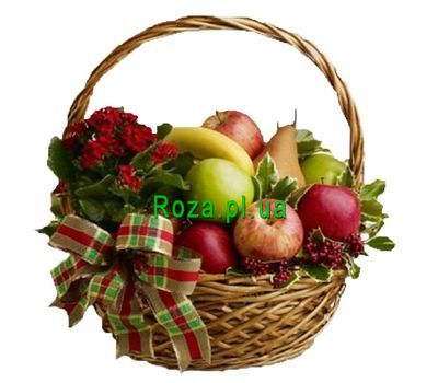 """Fruit Basket"" in the online flower shop roza.pl.ua"