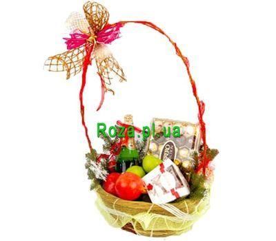 """""""Корзинка на подарок"""" в интернет-магазине цветов roza.pl.ua"""
