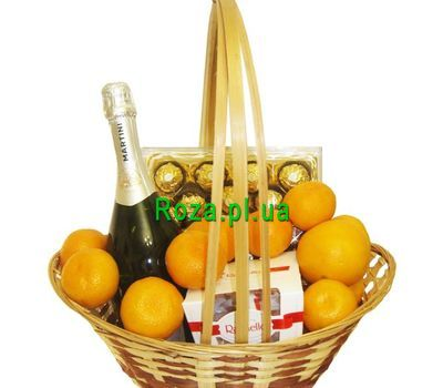 """Gift shopping cart"" in the online flower shop roza.pl.ua"