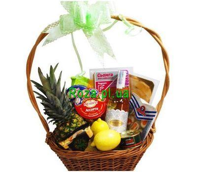 """""""Gift basket"""" in the online flower shop roza.pl.ua"""